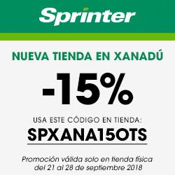 Tienda Sprinter