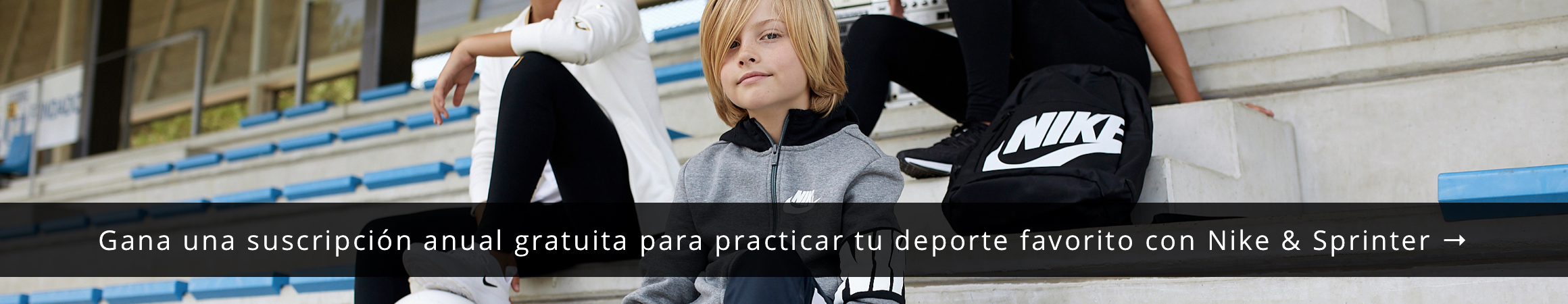 Gana una suscripción anual gratuita para practicar tu deporte favorito con Nike & Sprinter →