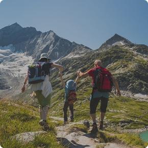 Senderismo con niños: como quiparar a la familia