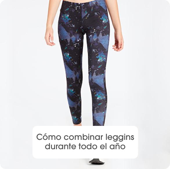 Cómo combinar leggins durante todo el año