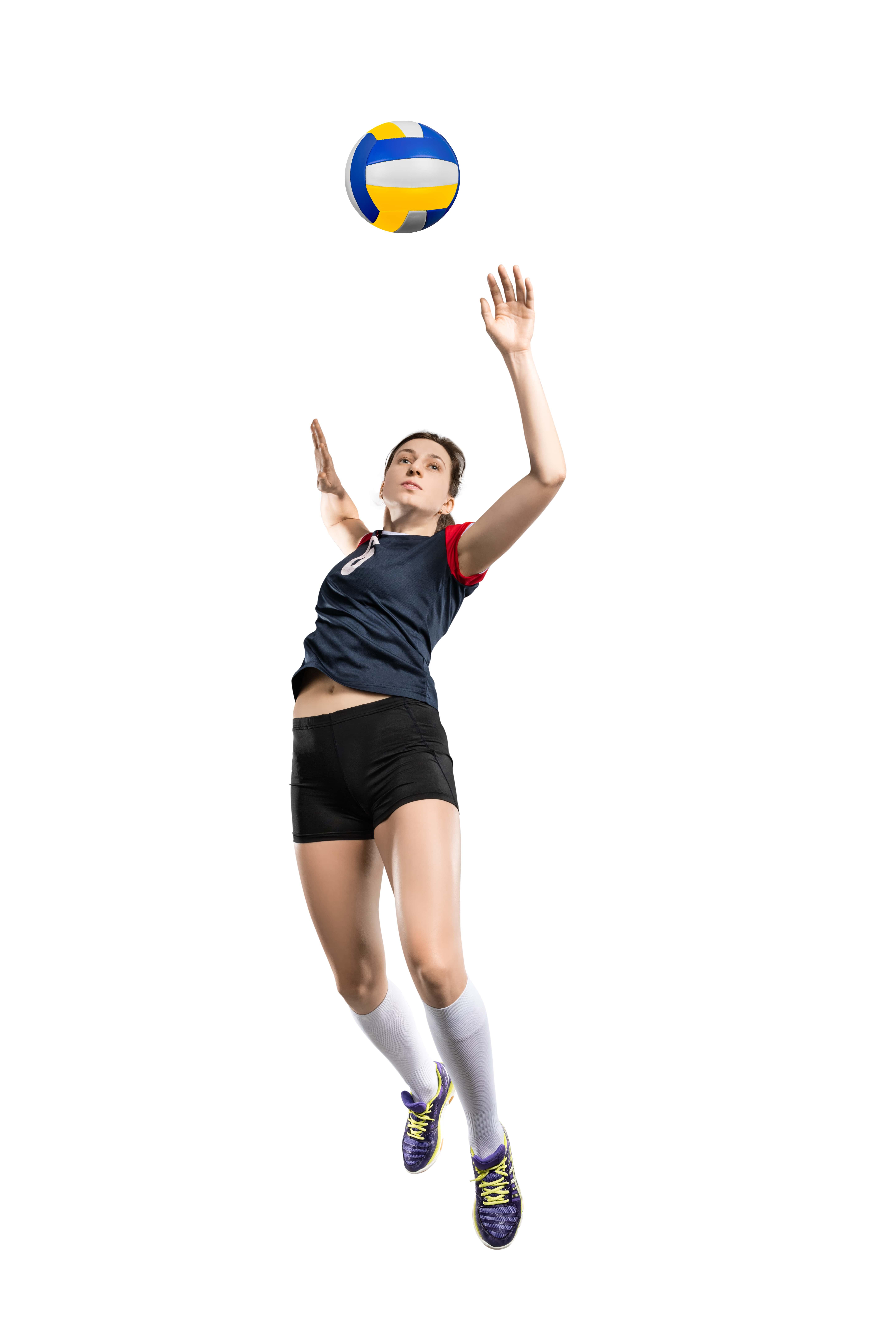 saque de potencia voleibol